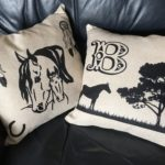 Digital Print Pillows